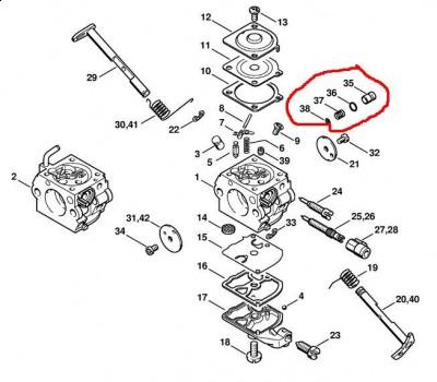 Stihl Ms230 Problem Z Obrotami Vt2405